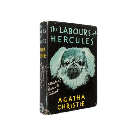 The Labours of Hercules by Agatha Christie First Edition Second Impression The Crime Club Collins 19